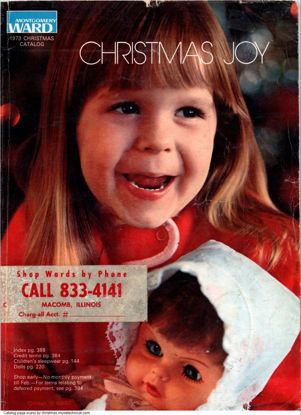 Picture of 1973 Montgomery Ward Christmas Book (digital download)