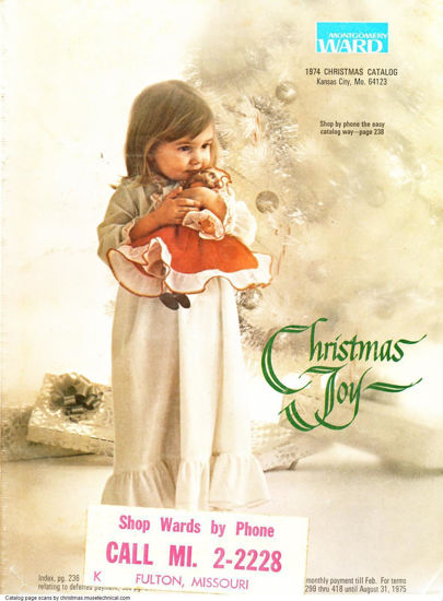Picture of 1974 Montgomery Ward Christmas Book (digital download)