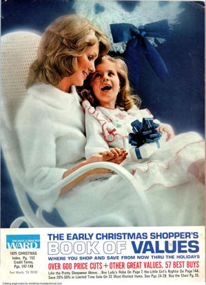 Picture of 1975 Montgomery Ward Christmas Book (digital download)