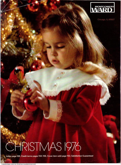 Picture of 1976 Montgomery Ward Christmas Book (digital download)