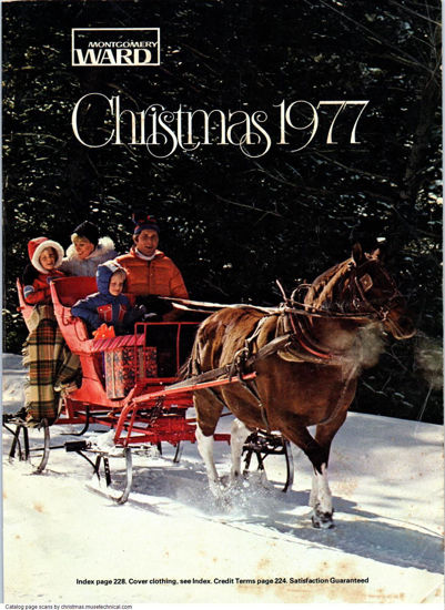 Picture of 1977 Montgomery Ward Christmas Book (digital download)