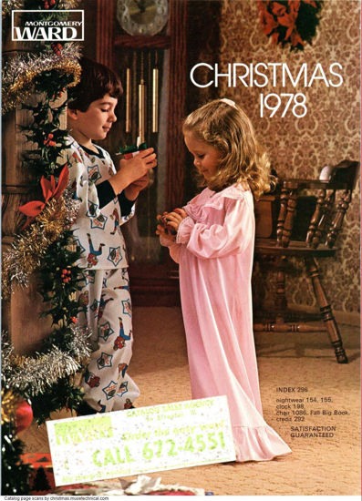 Picture of 1978 Montgomery Ward Christmas Book (digital download)