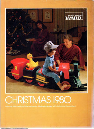 Picture of 1980 Montgomery Ward Christmas Book (digital download)