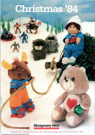 Picture of 1984 Montgomery Ward Christmas Book (digital download)
