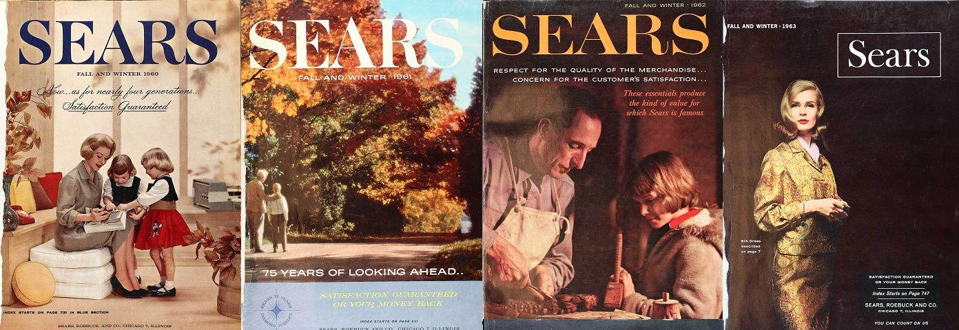 Sears Seasonal Catalog PDFs for Sale
