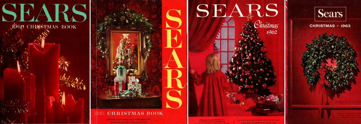 Sears Christmas Book PDFs for Sale
