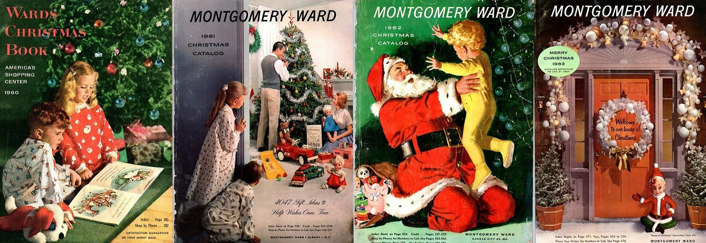 Montgomery Ward Christmas Book PDFs for Sale