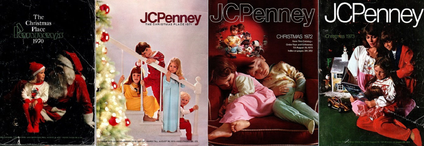JCPenney Christmas Book PDFs for Sale
