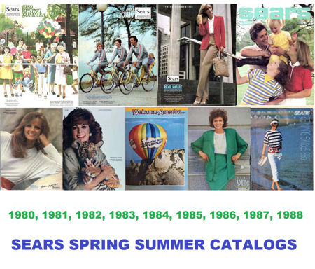 Picture for category 1980-1988 Sears Spring/Summer Catalogs