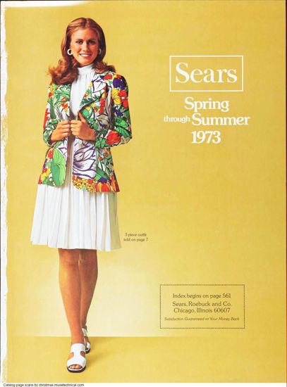 Picture of 1973 Sears Spring Summer Catalog (digital download)