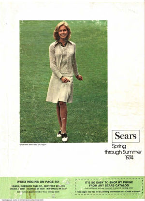 Picture of 1974 Sears Spring Summer Catalog (digital download)