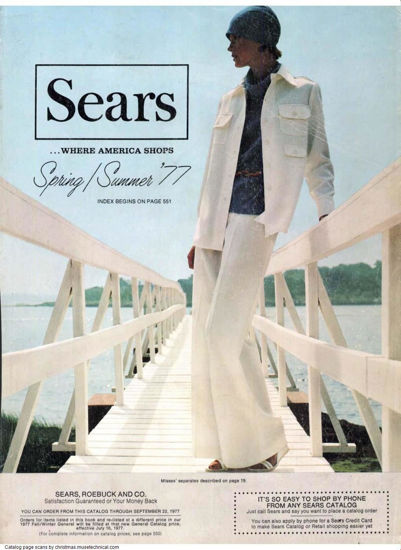 Picture of 1977 Sears Spring Summer Catalog (digital download)