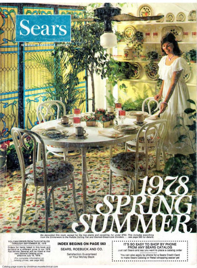 Picture of 1978 Sears Spring Summer Catalog (digital download)