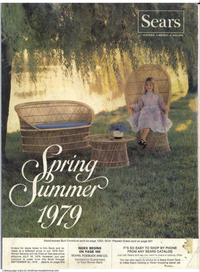 Picture of 1979 Sears Spring Summer Catalog (digital download)