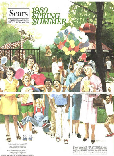 Picture of 1980 Sears Spring Summer Catalog (digital download)
