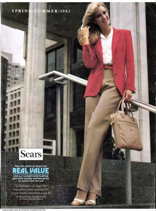 Picture of 1982 Sears Spring Summer Catalog (digital download)