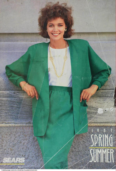 Picture of 1987 Sears Spring Summer Catalog (digital download)