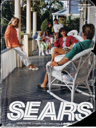 Picture of 1991 Sears Spring Summer Catalog (digital download)