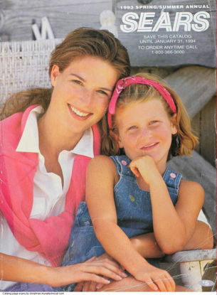 Picture of 1993 Sears Spring Summer Catalog (digital download)