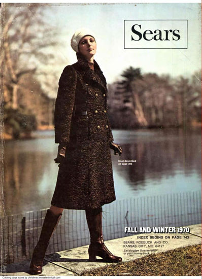 Picture of 1970 Sears Fall Winter Catalog (digital download)