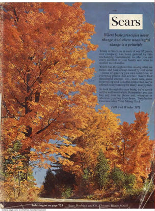 Picture of 1971 Sears Fall Winter Catalog (digital download)