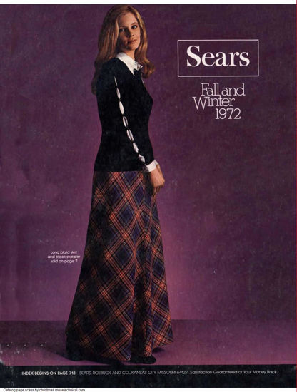 Picture of 1972 Sears Fall Winter Catalog (digital download)