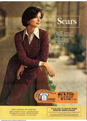 Picture of 1974 Sears Fall Winter Catalog (digital download)