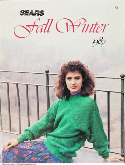 Picture of 1987 Sears Fall Winter Catalog (digital download)
