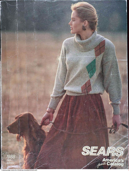 Picture of 1988 Sears Fall Winter Catalog (digital download)
