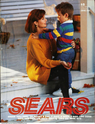 Picture of 1991 Sears Fall Winter Catalog (digital download)