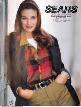 Picture of 1992 Sears Fall Winter Catalog (digital download)