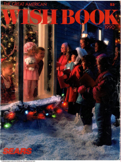 Picture of 1990 Sears Christmas Book (digital download)