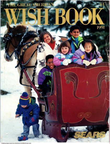 Picture of 1991 Sears Christmas Book (digital download)