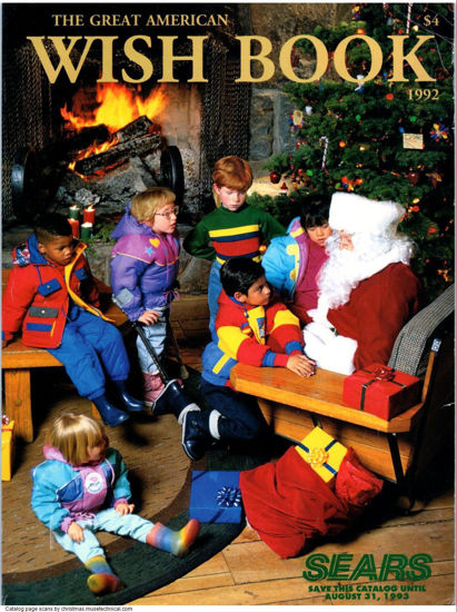 Picture of 1992 Sears Christmas Book (digital download)