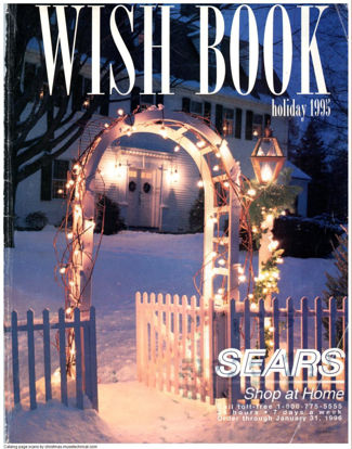 Picture of 1995 Sears Christmas Book (digital download)