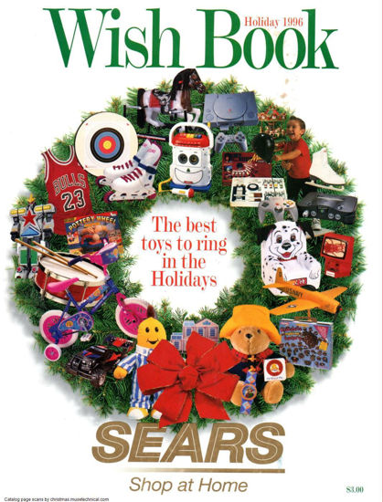Picture of 1996 Sears Christmas Book (digital download)