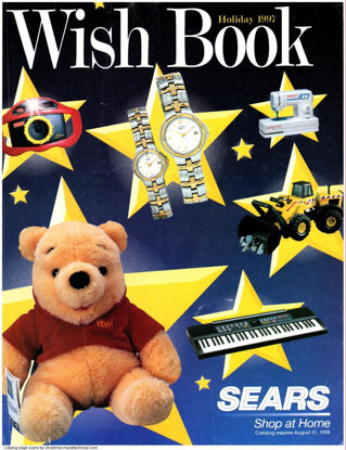 Picture of 1997 Sears Christmas Book (digital download)