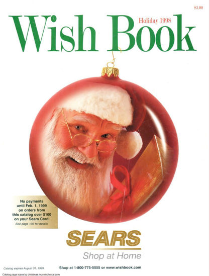 Picture of 1998 Sears Christmas Book (digital download)