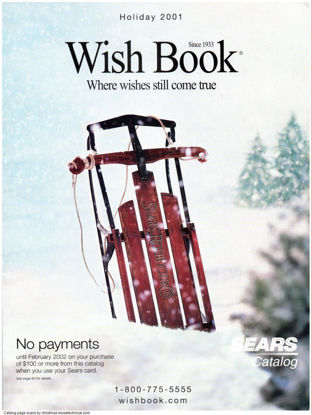 Picture of 2001 Sears Christmas Book (digital download)