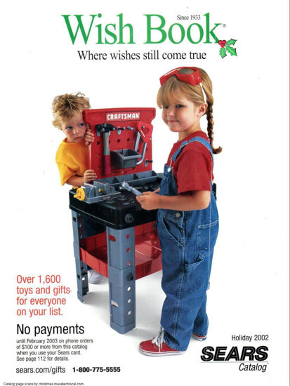 Picture of 2002 Sears Christmas Book (digital download)