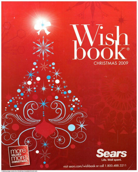 Picture of 2009 Sears Christmas Book (digital download)