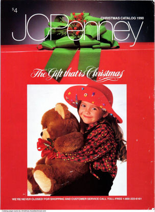 Picture of 1990 JCPenney Christmas Book (digital download)
