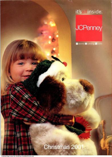 Picture of 2001 JCPenney Christmas Book (digital download)