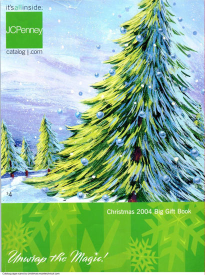 Picture of 2004 JCPenney Christmas Book (digital download)