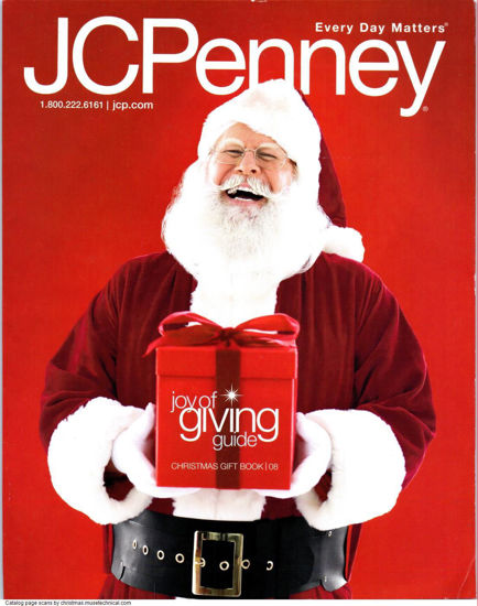 Picture of 2008 JCPenney Christmas Book (digital download)