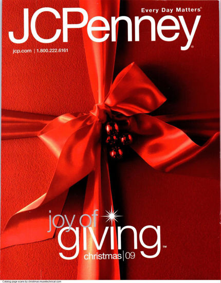 Picture of 2009 JCPenney Christmas Book (digital download)