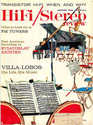 Picture of 1961 Stereo Review (HiFi Review) Magazine Issues (digital download)