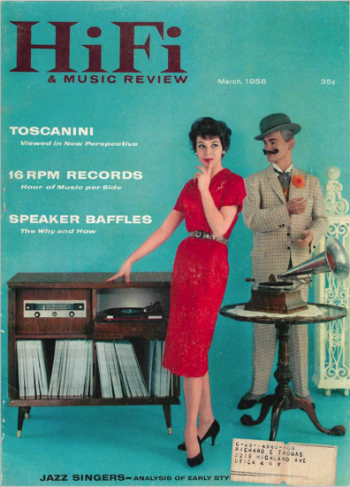 Picture of 1958 Stereo Review (HiFi Review) Magazine Issues (digital download)