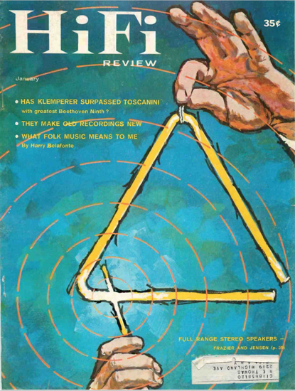 Picture of 1959 Stereo Review (HiFi Review) Magazine Issues (digital download)