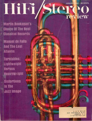 Picture of 1962 Stereo Review (HiFi Review) Magazine Issues (digital download)